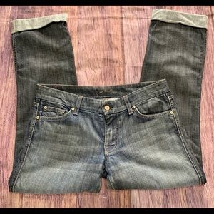 7 for all man kind jeans size 30 Kate fit